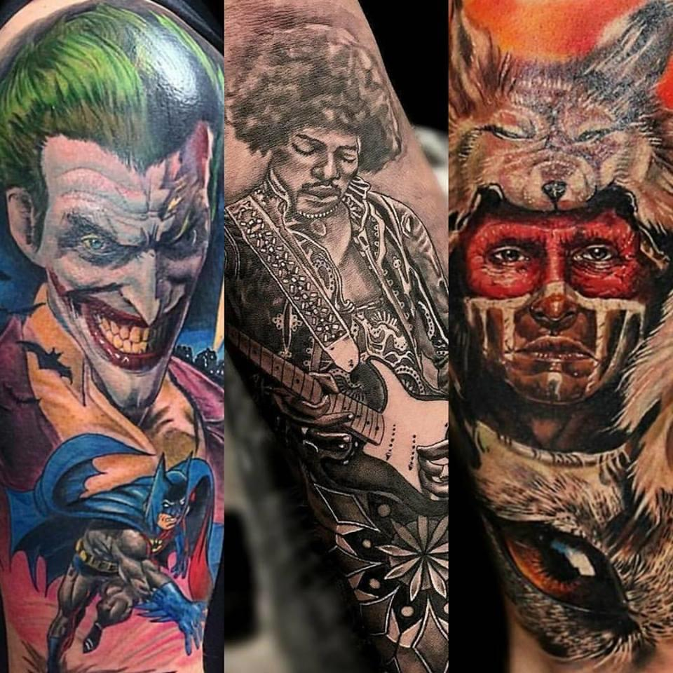 Jp alfonso studios norcross georgia ga for Charlie cu tattoo