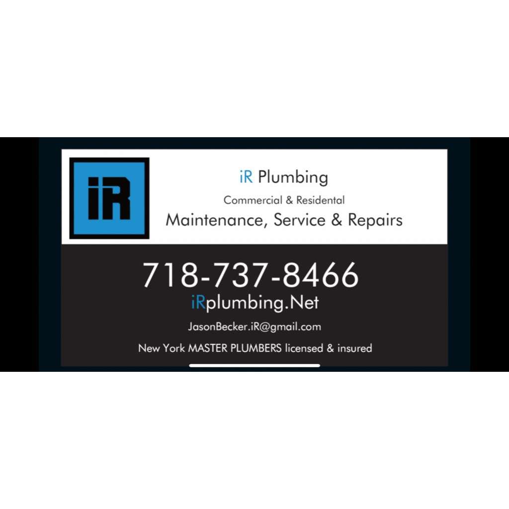 IR  Plumbing (Piping - Service, Repairs & Maintenance)