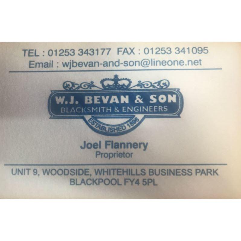 W J Bevan & Son - Blackpool, Lancashire FY4 5PL - 01253 343177 | ShowMeLocal.com