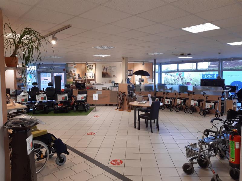 Laden Ausstellung Mobilitätshilfen