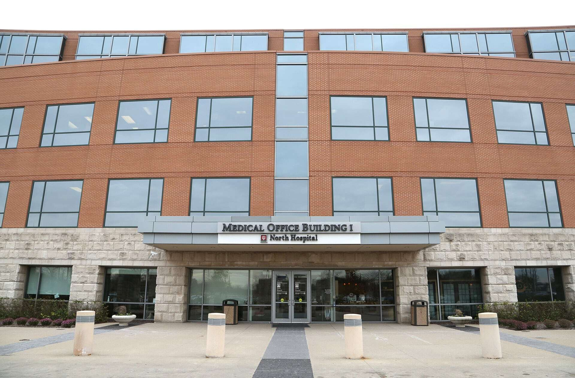 IU Health North Hospital Medical Office Building - Main Entrance