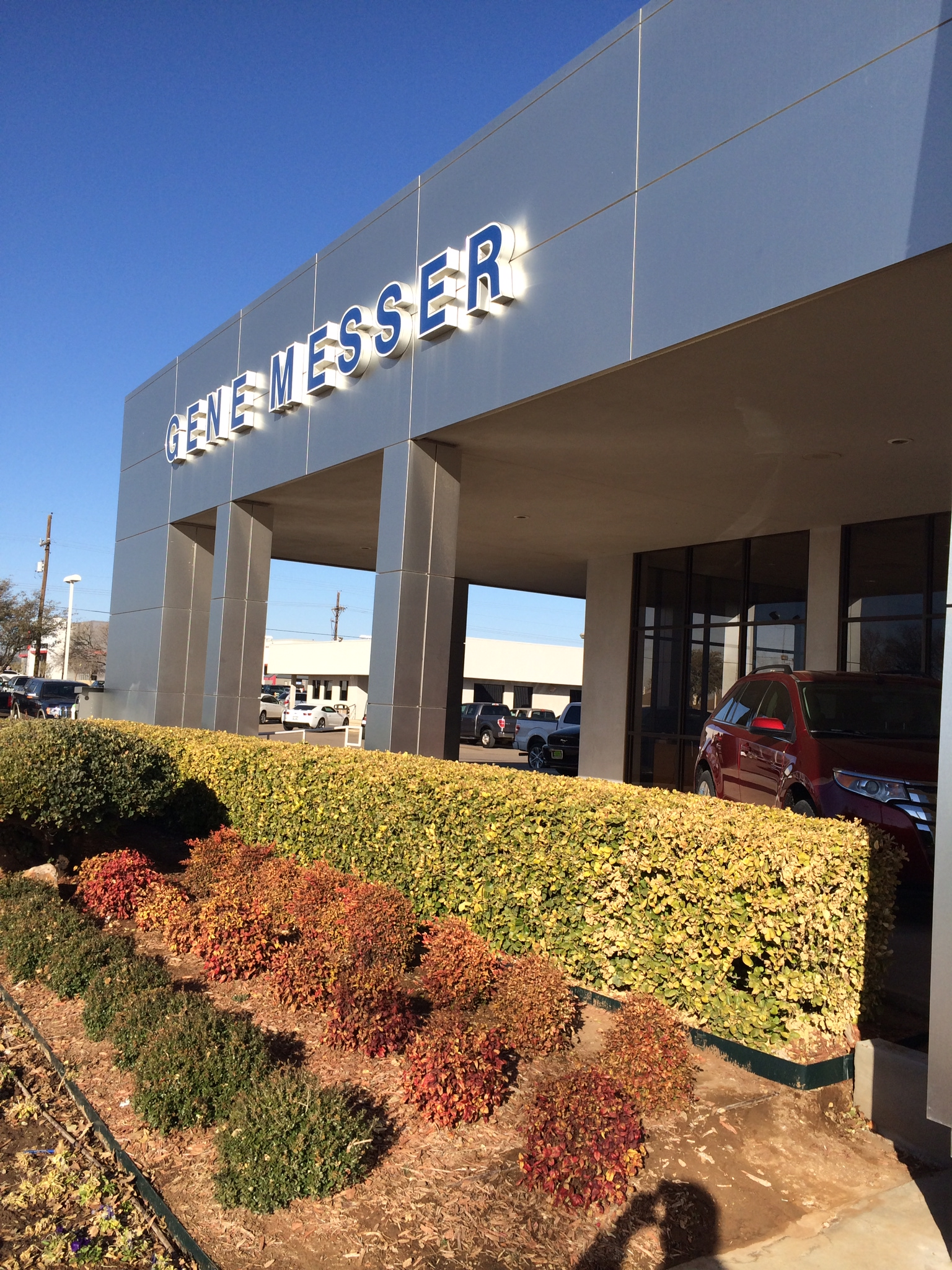 Gene Messer Ford Lincoln In Lubbock Tx 79407