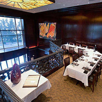Del Frisco's Double Eagle Steakhouse Charlotte Eagle Room private dining room