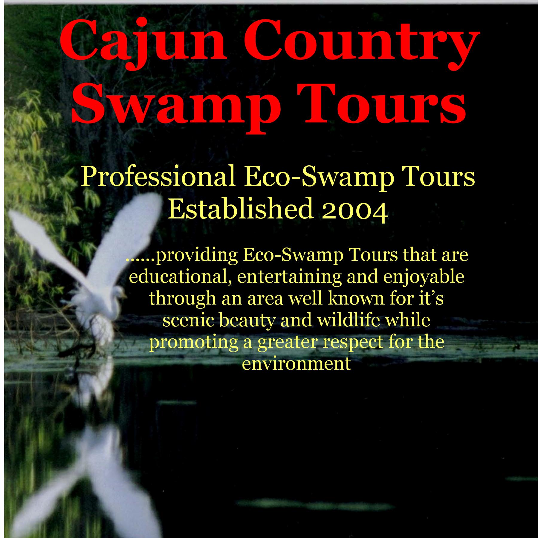 Swamp Tours Near Me