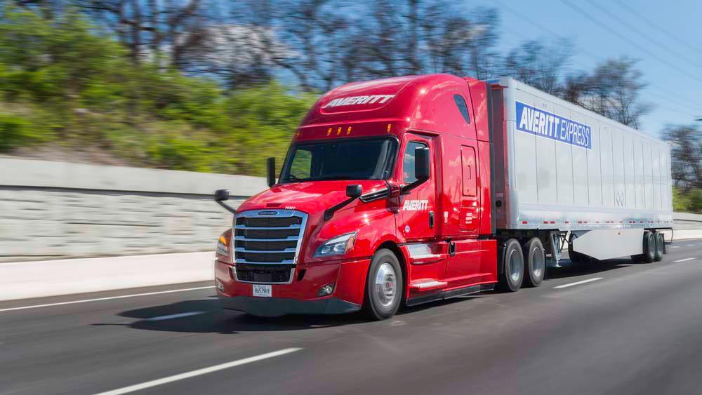 Averitt Express 2018 Freightliner Sleeper Truck