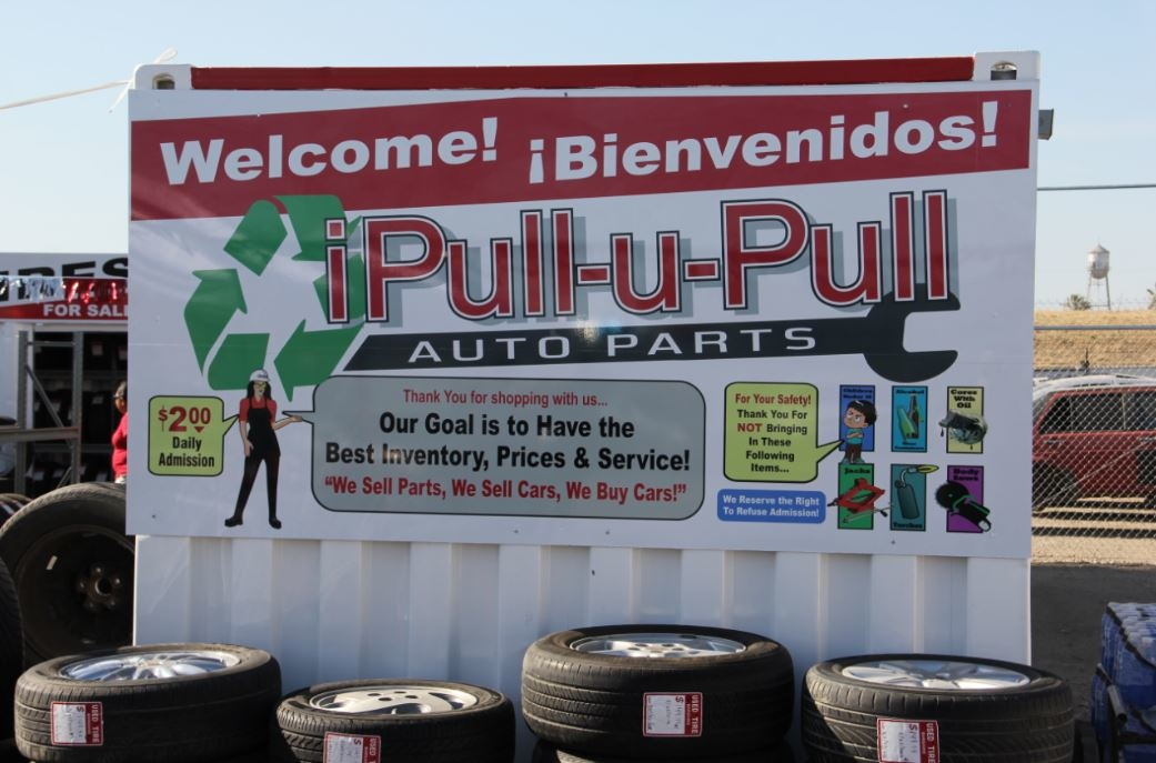 Ipull Upull Auto Parts Fresno California Ca