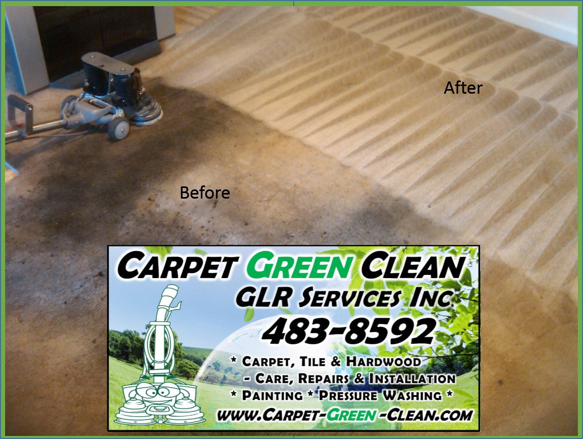 Carpet Green Clean A Division Of Glr Services Inc In