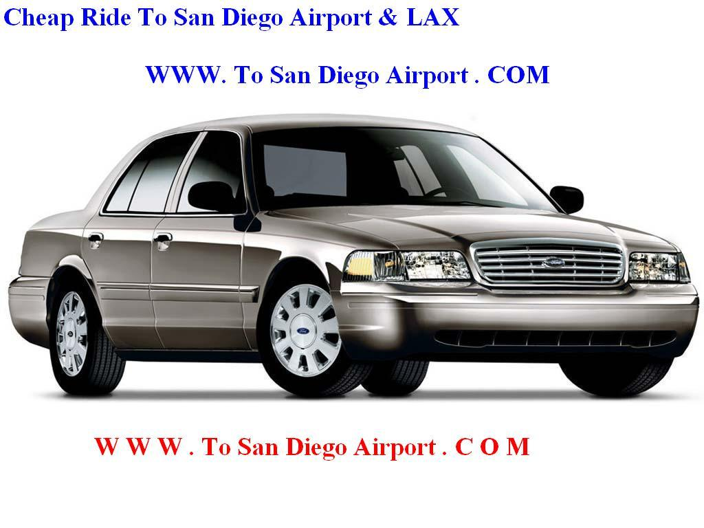Cheap Ride To San Diego Airport