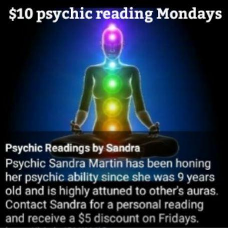 Psychic Readings by Sandra - Wyandotte, MI 48192 - (313)633-5828   ShowMeLocal.com