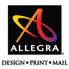 Allegra Design Print Mail logo