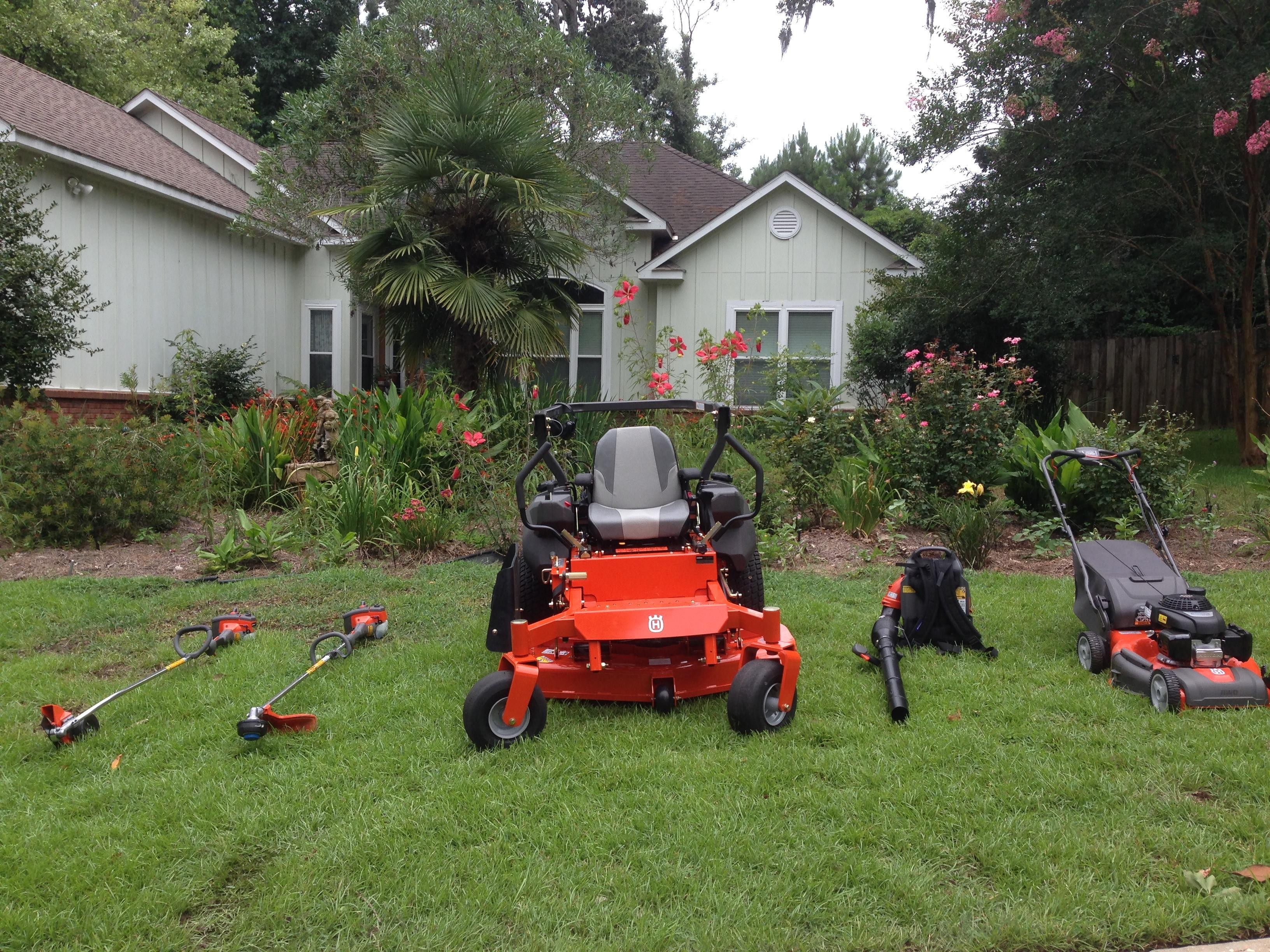 Happy Grass Lawn Maintenance