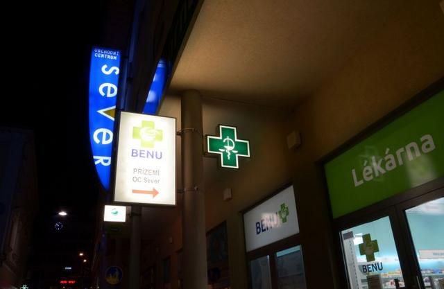 BENU Lékárna OC Sever