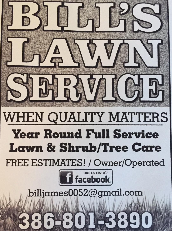 Bill's Lawn Service