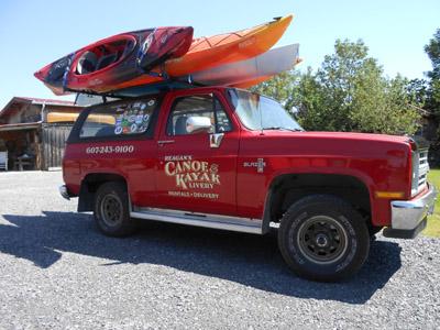 Reagan's Canoe & Kayak Livery