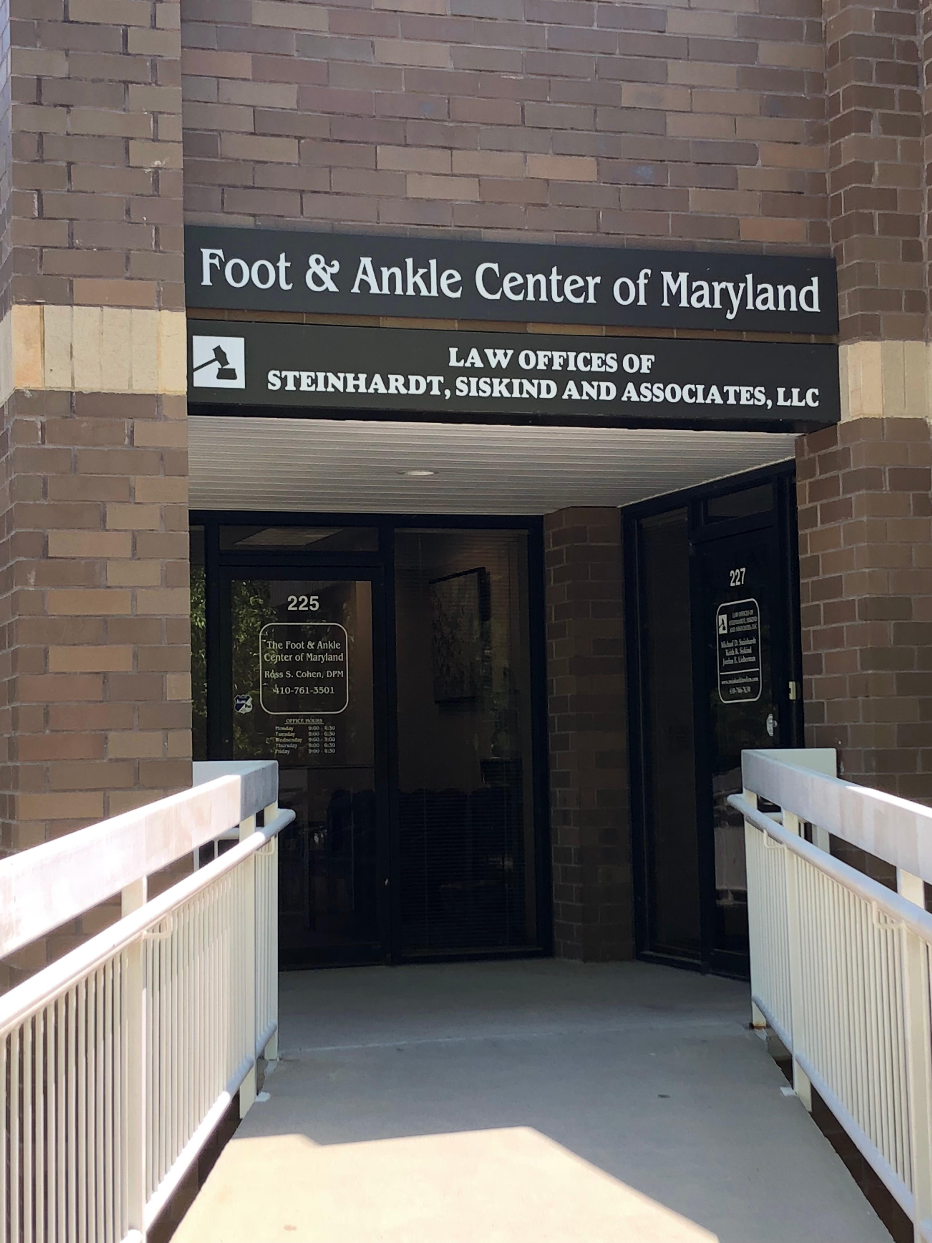 The Foot & Ankle Center of Maryland