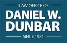 Law Office of Daniel W. Dunbar - ad image