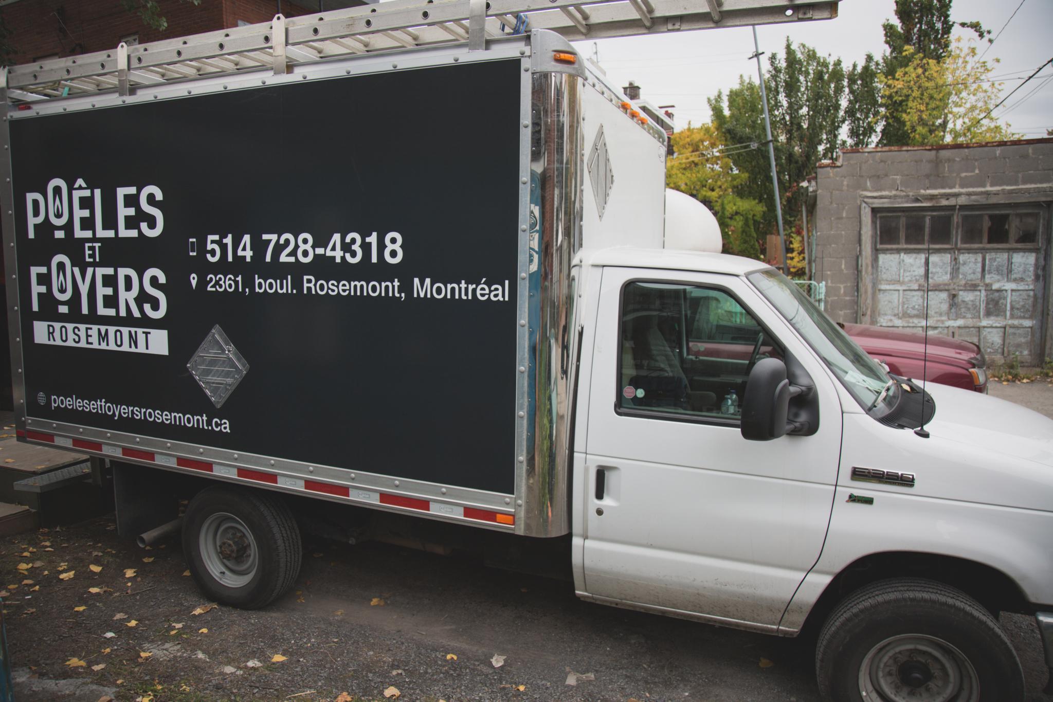 Poeles et Foyers Rosemont Montreal (514)728-4318