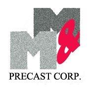 M & M Precast Corporation logo