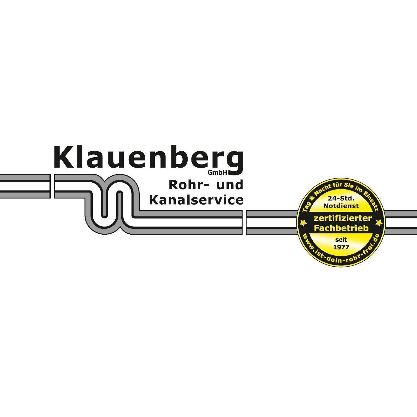 Bild zu Klauenberg GmbH Rohr- und Kanalservice in Braunschweig