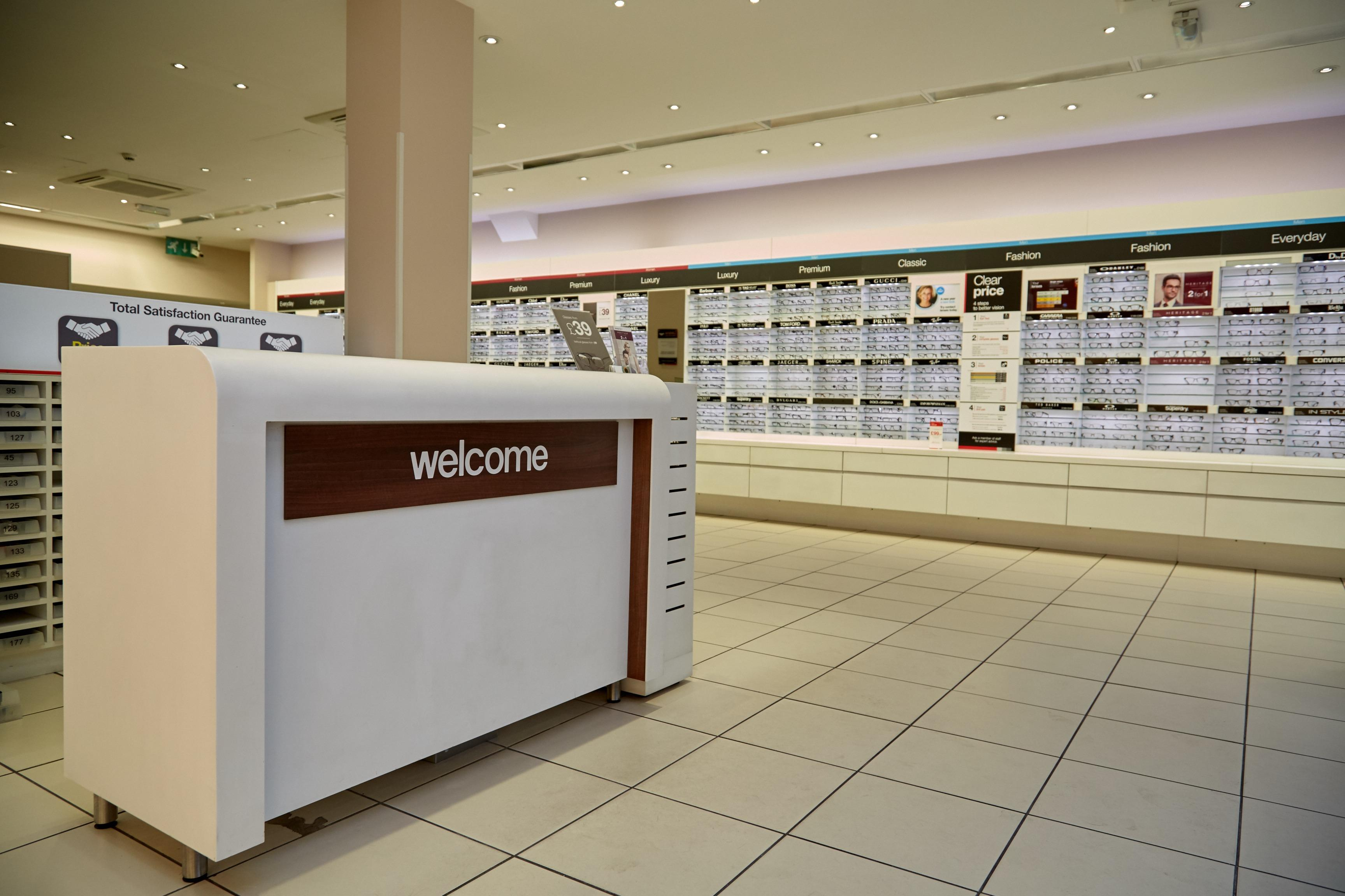 Vision Express Opticians at Tesco - Dunfermline