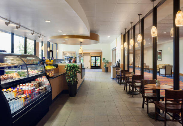 Stop by The Coffee Bean & Tea Leaf for hot drinks, pastries and snacks during your Orlando visit.
