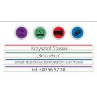 Rescuefon Serwis Telefonów Komputerów Elektroniki. Krzysztof Stasiak