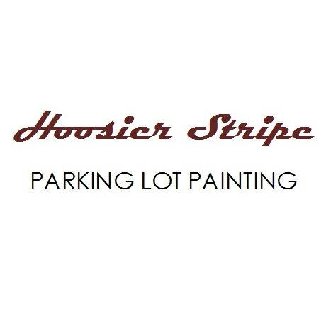 Hoosier Stripe Parking Lot Painting