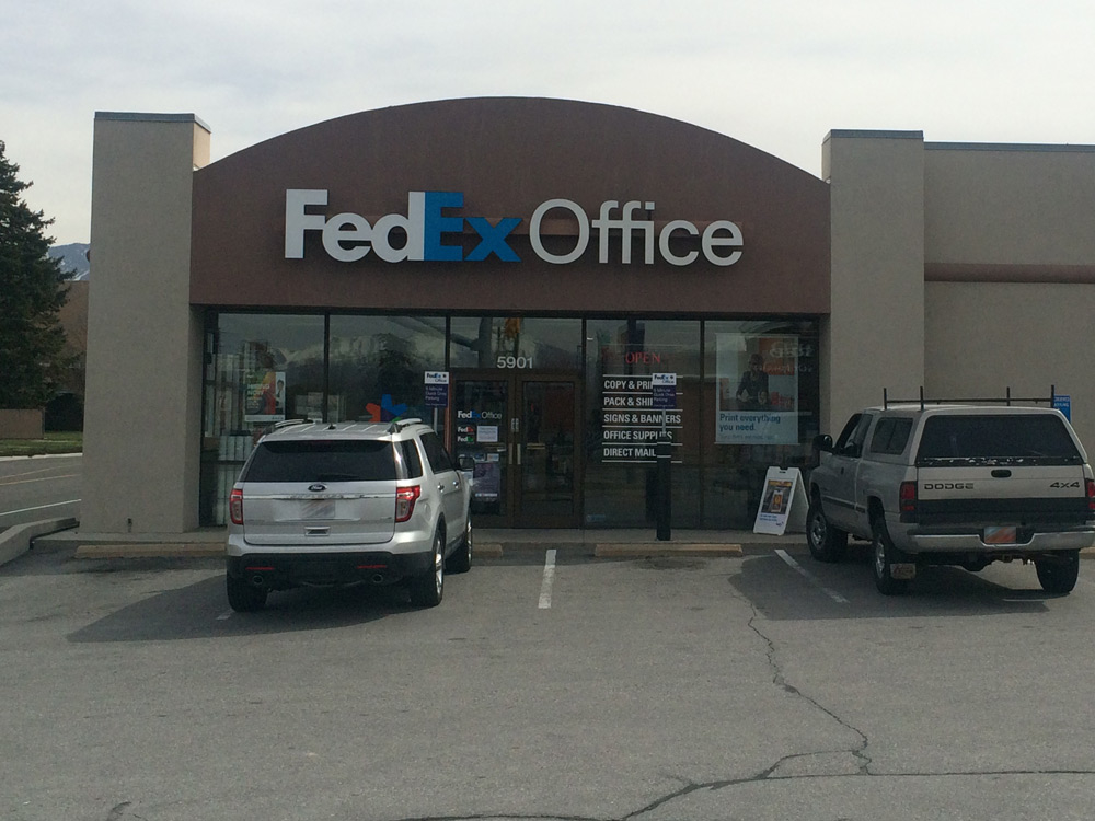Fedex office print ship center murray utah ut for Fedex color printing per page