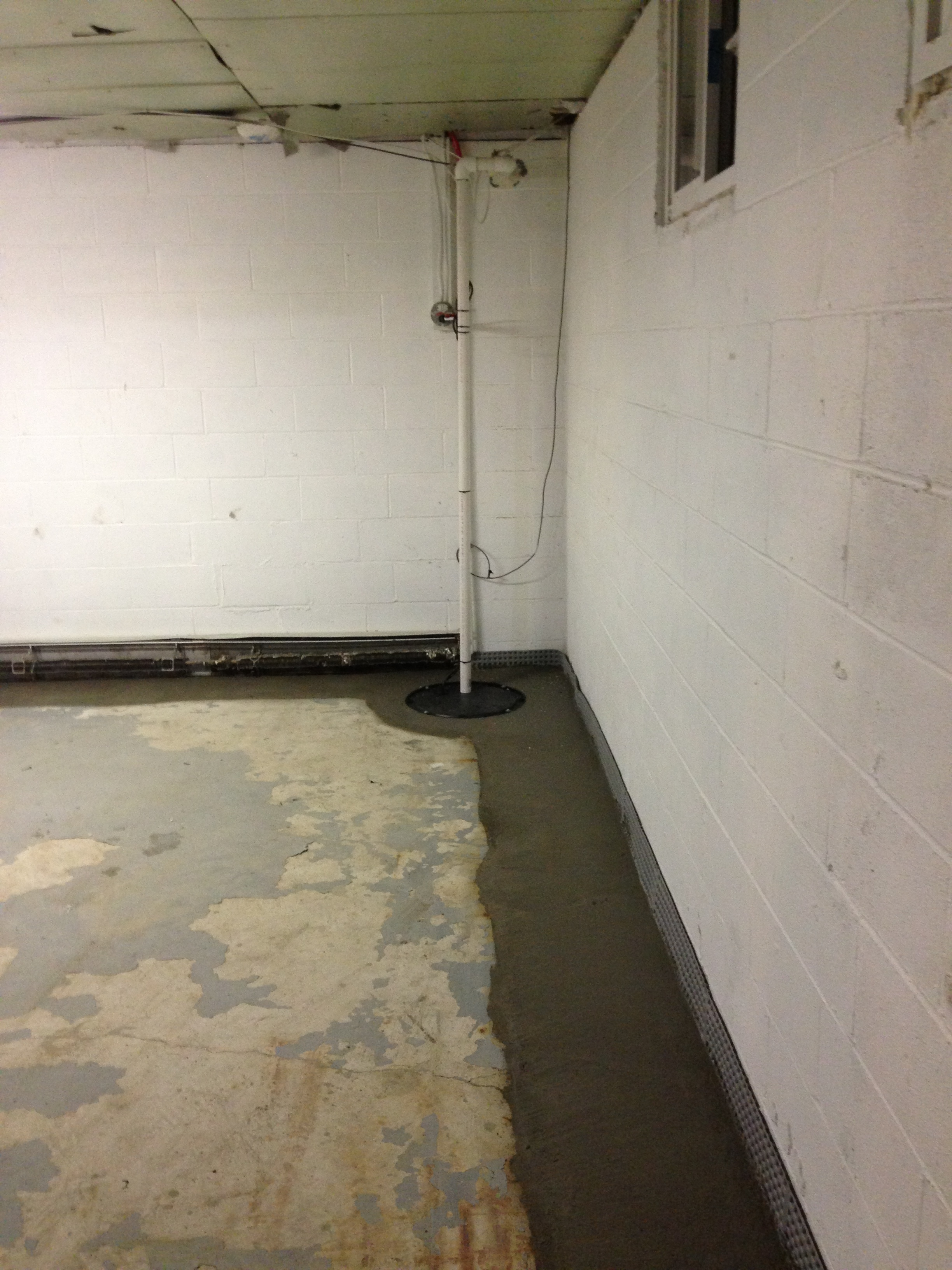 All dry basement systems llc in danbury ct 06810 for Dry basement