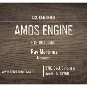 Amos Engine Installation