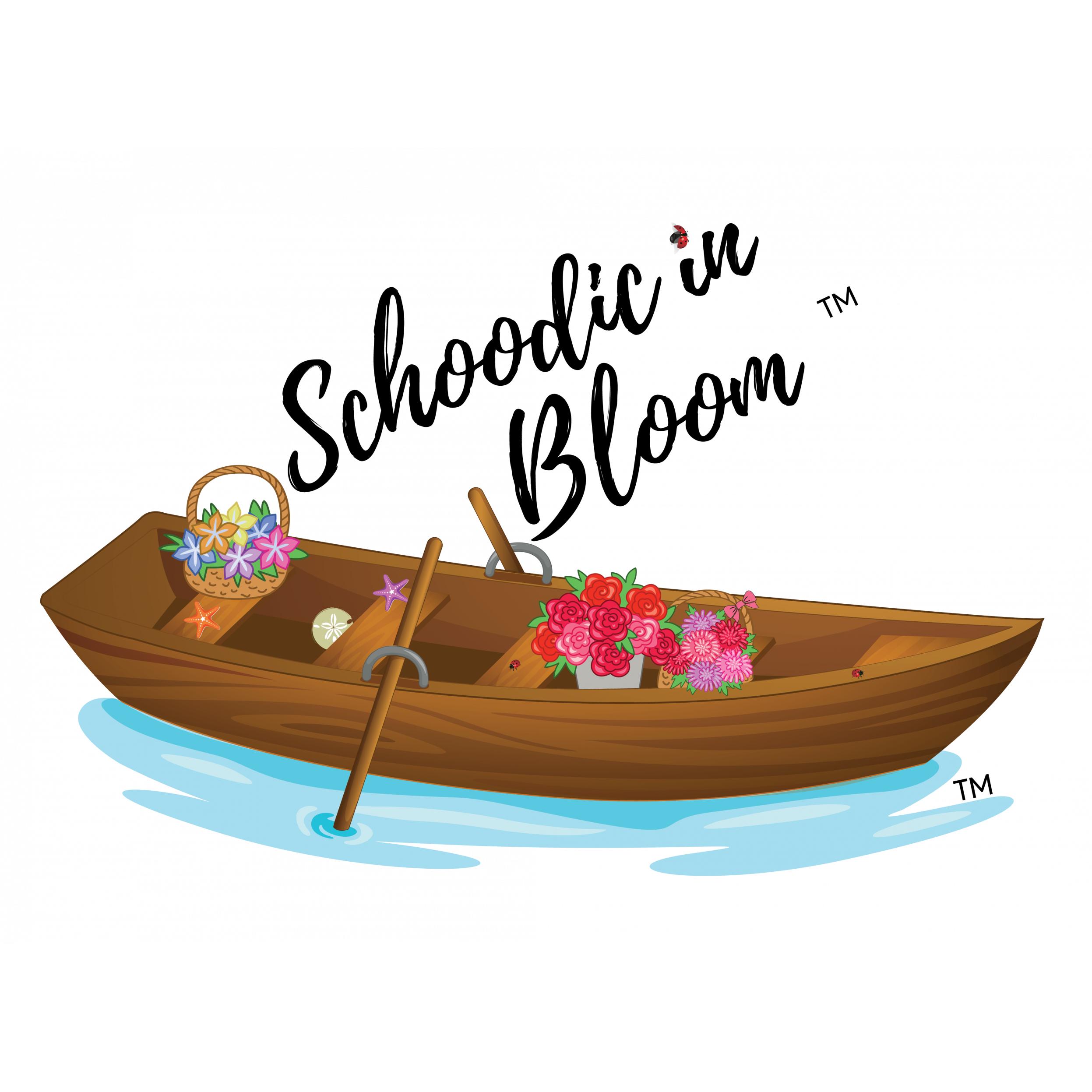 Schoodic In Bloom Logo
