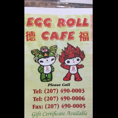 Egg Roll Cafe
