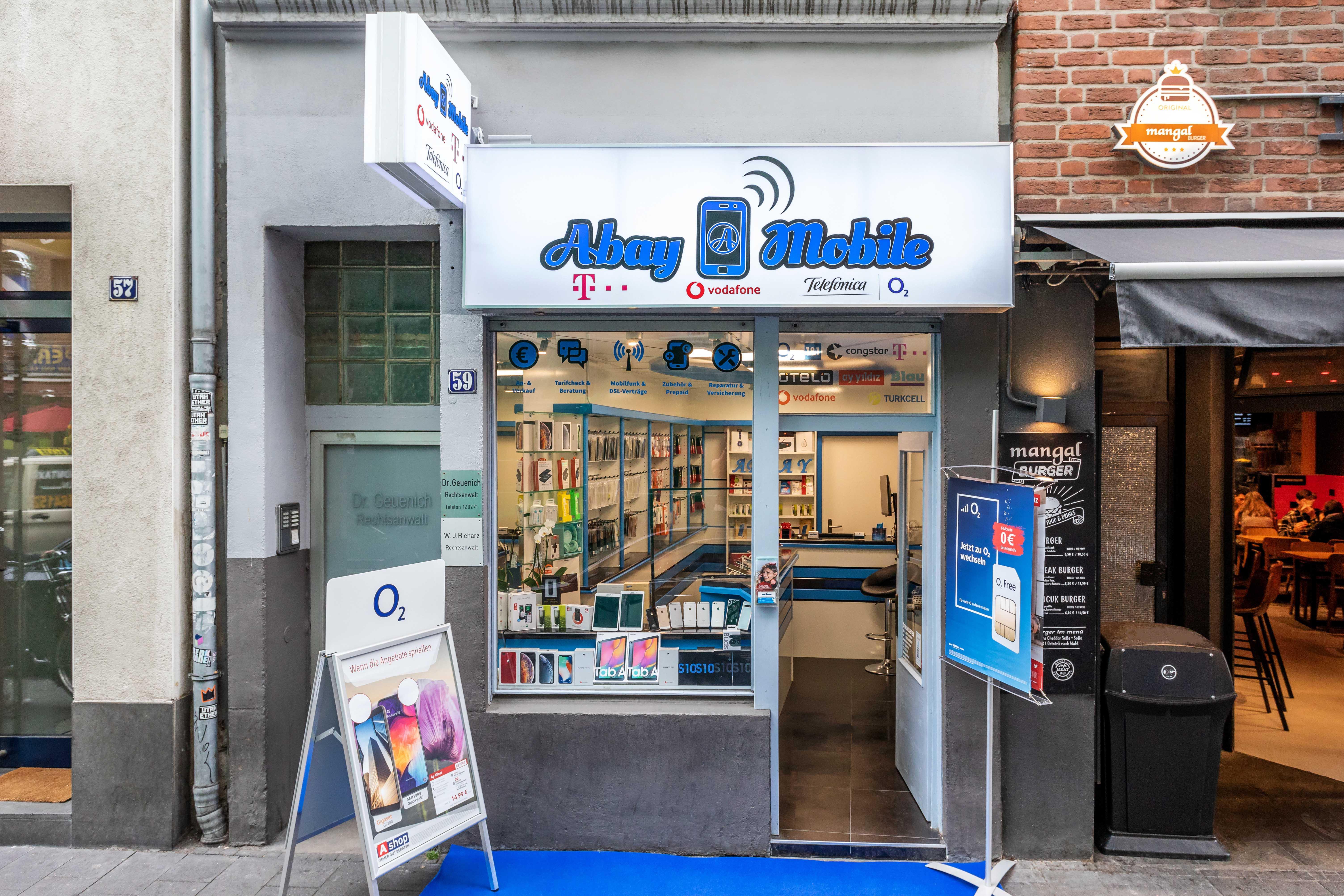 Handyshop Köln | Abay Mobile, Weidengasse 59 in Köln