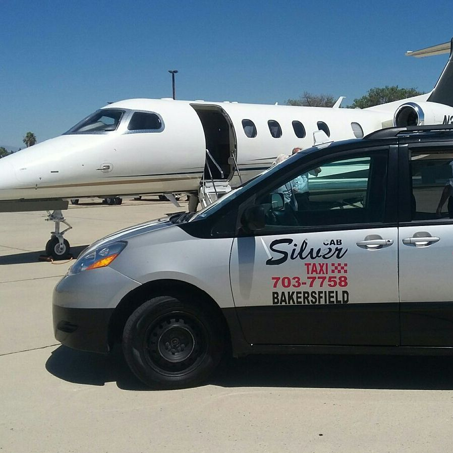 image of the Silver Taxi - Faster Service