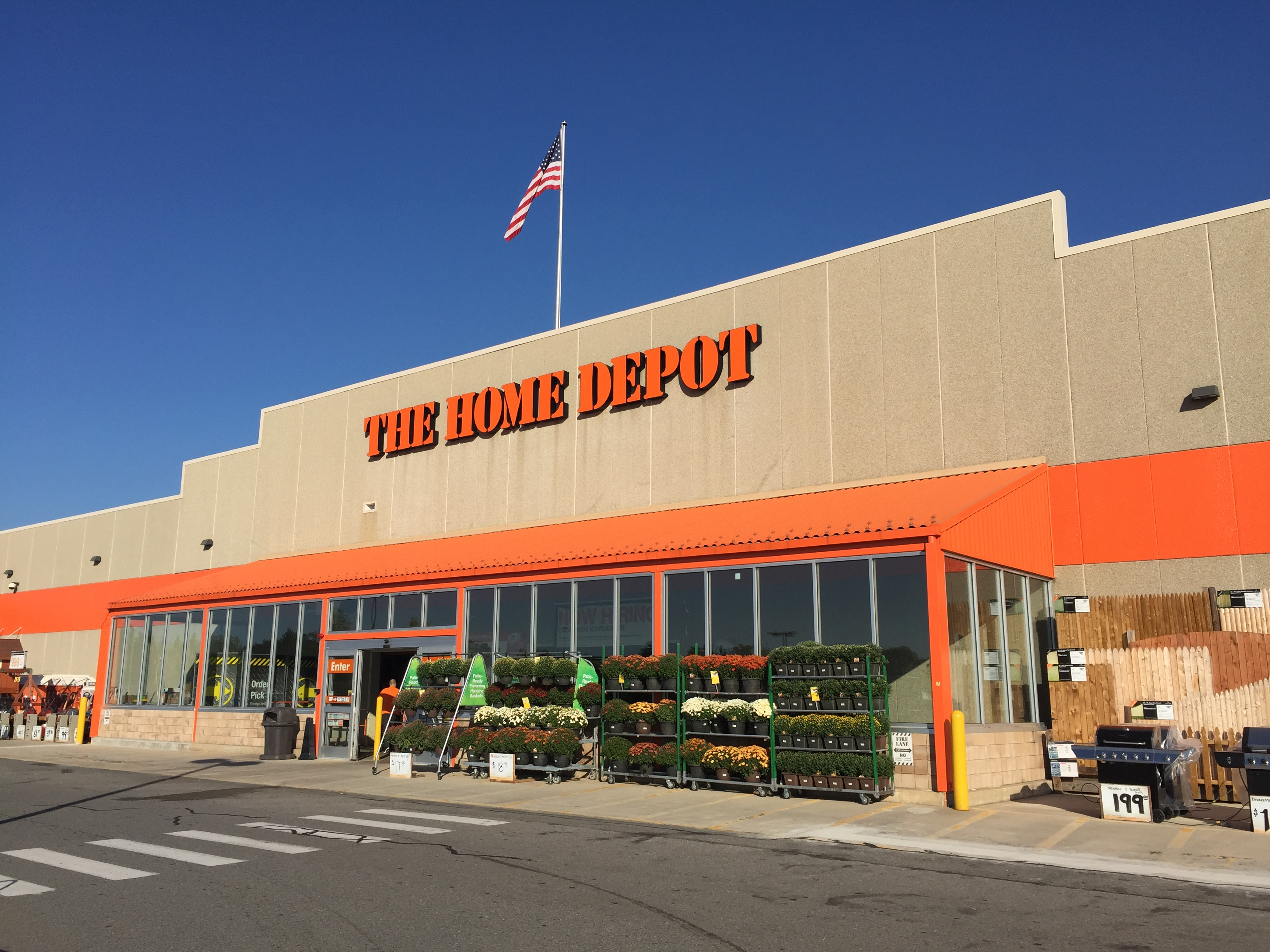 the home depot in plaistow nh hardware stores yellow pages directory inc. Black Bedroom Furniture Sets. Home Design Ideas