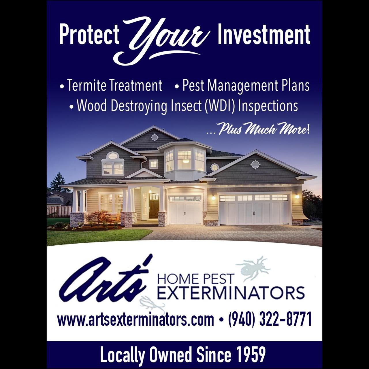 Art 39 s home pest exterminators wichita falls tx 76302 for Local craft fairs near me